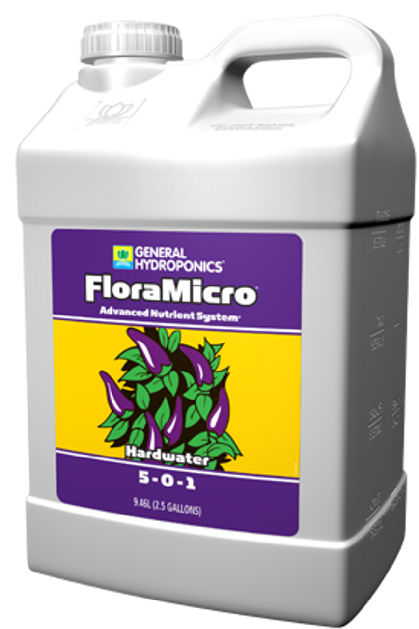 Flora Micro Hard water 10L. If your tap water is over 250 ppm or contains calcium above 70 ppm