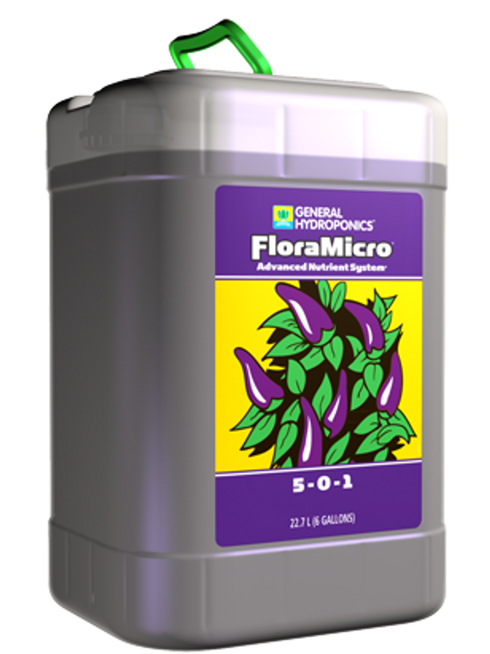 General Hydroponics FloraMicro Hardwater - Grow King Hydroponics and