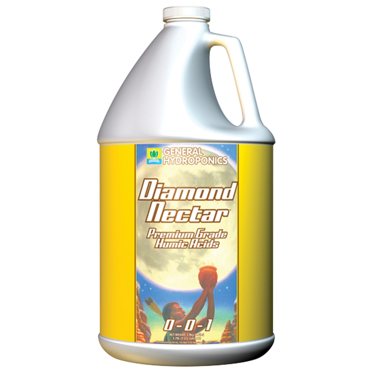 Premium nutrient transporter - Diamond Nectar General Hydroponics 4L