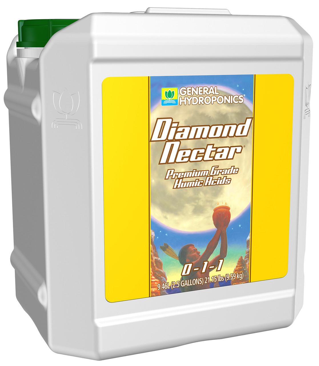 Premium nutrient transporter - Diamond Nectar General Hydroponics 10L