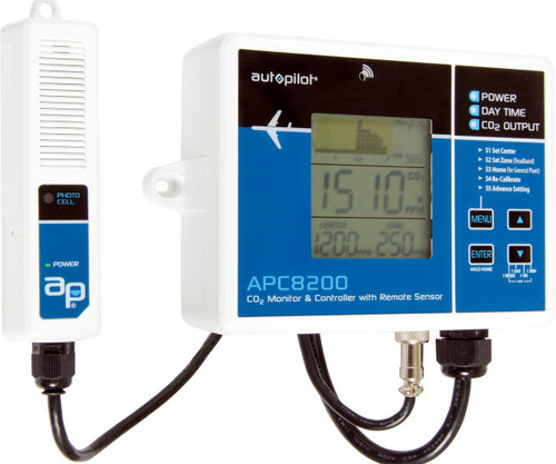 Autopilot CO2 Monitor and Controller APC8200