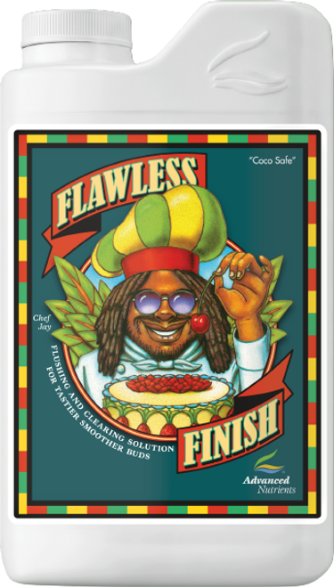 Experience Better Taste, Aroma, and Potency  When You Flush with Flawless Finish before Harvest!