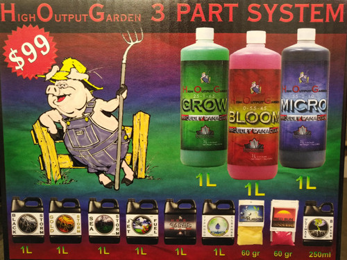 Innovating Plant Product , Grow box kit, HOG Starter Kit, Mirco, Grow, Bloom, Sea Storm, Black Storm, Jet Fuel, HOG Carbs, Gold Storm, Red Sun, Bud Fusion, Typhoon Cleanse
