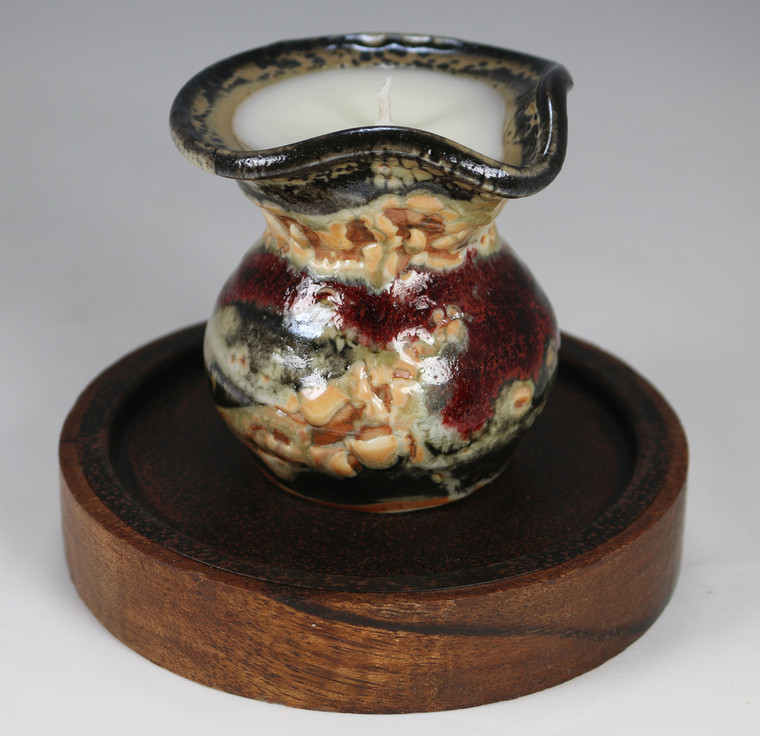 Carbon Trap Shino Vessels Enhanced with Frankincense