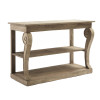Ex Display - Ningbo Natural Console Table - Solid Marine Timber - CLEARANCE