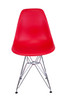Replica Charles Eames DSR Eiffel Dining Chair - plastic, chrome legs - seat color choice - Pre-Order Only