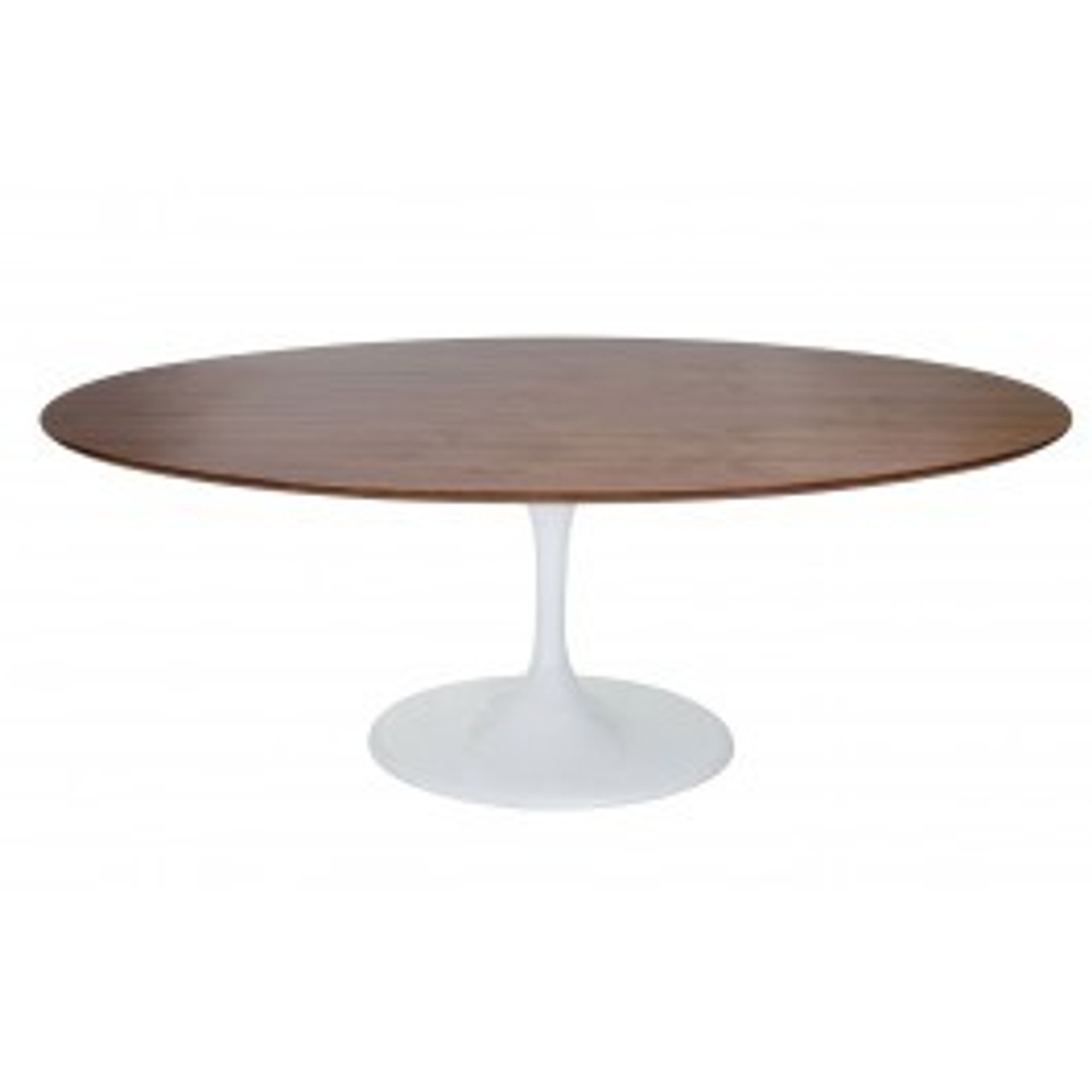Replica Tulip Oval Dining Table Wood Top 160 To 200cm Tulip