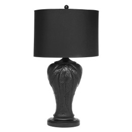 Martinique Table Lamp - Black (cl)