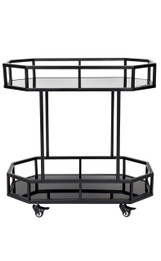 Brooklyn Drinks Trolley - Black (cl)