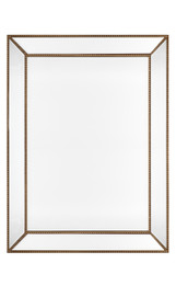 Zeta Wall Mirror - Large Antique Gold (cl)