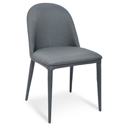 CDC2236-EI Fabric Dining Chair - Gunmetal Grey (cf)
