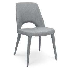 CDC2242-EI Fabric Dining Chair - Coin Grey (cf)