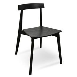 CDC2422-DR Dining Chair - Black (cf)