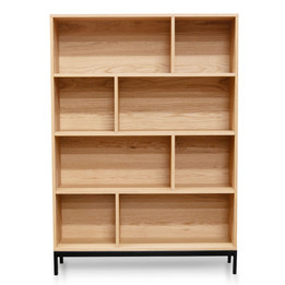 CDT2124-KD Bookcase - Natural (cf)