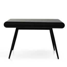 CDT2421-DR Narrow Wood Console Table - Full Black (cf)