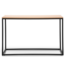 CDT2511-KD Natural Console Table - Black (cf)
