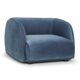 CLC2308 Armchair - Dust Blue (cf)