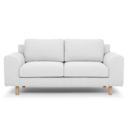 CLC2310 2 Seater Sofa - Light Texture Grey (cf)
