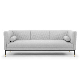 CLC2334 3 Seater Sofa - Light Grey (cf)