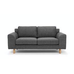 CLC2479-FA 2 Seater Sofa - Metal Grey (cf)