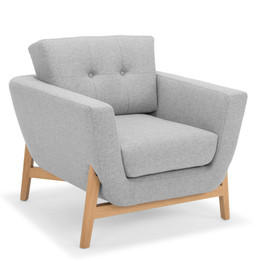 CLC2516-FA Armchair - Light Grey (cf)