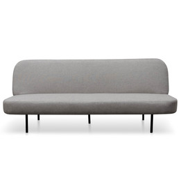 CLC2599-NIS 3 Seater Sofa Bed - Light Grey (cf)
