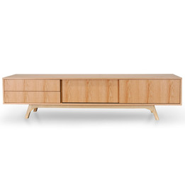 Ella 2.1m TV Entertainment Unit - Natural (cf)