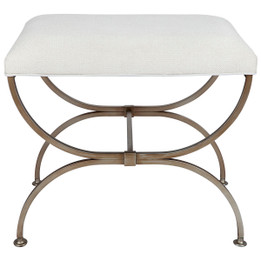 Novak Stool -  Antique Gold (cl)