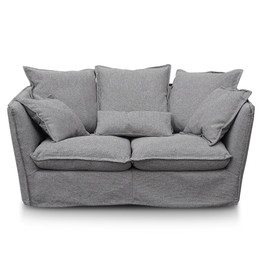 CLC2737-KSO 2 Seater Sofa - French Grey (cf)