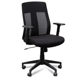 COC2545-LF Mesh Office Chair - Black (cf)