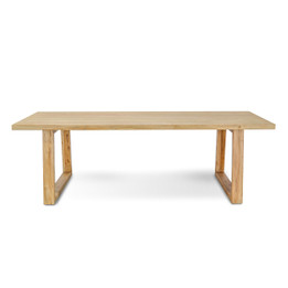 CDT576 Reclaimed Dining Table - 2.4m (cf)