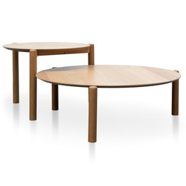 CCF2814-KD-CF2815-KD - Nest of Coffee tables - Natural (cf)
