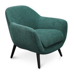 CLC2670-IG Armchair - Green Fabric (cf)
