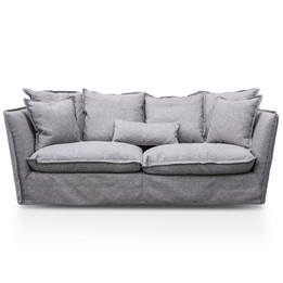 CLC2736-KSO 3 Seater Sofa - French Grey (cf)