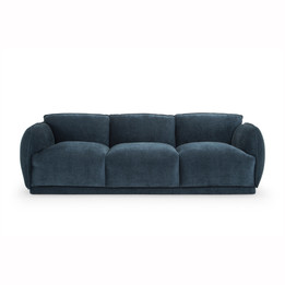 CLC2955-FA 3 Seater Sofa - Dusty Blue (cf)