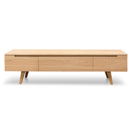 Hugo 1.8m Scandinavian TV Unit - Natural (cf)