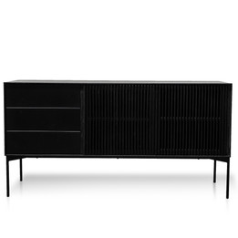 CDT2918-DW 160cm Sideboard with Drawers - Black Oak (cf)