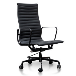 COC2970-YS - Executive Leather Office Chair - Eames Replica - Full... (cf)