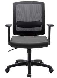 COC6110-UN - Mesh Ergonomic Office Chair - Black (cf)