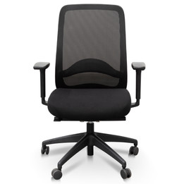 COC6112-UN - Mesh Ergonomic Office Chair - Black (cf)