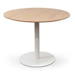 COT6106-SN - Round Office Meeting Table - Natural (cf)
