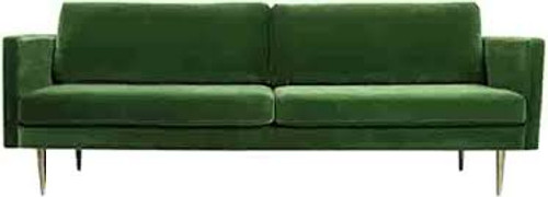 Big Apple 3 Seater Sofa - Premium Grass Soft Velvet