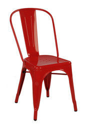 Replica Tolix Chair - Red