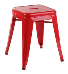 Replica Tolix Stool  - Red 45 cm