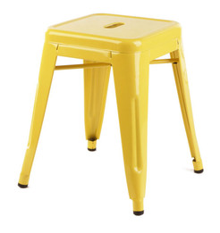 Replica Tolix Stool  - Yellow 45 cm