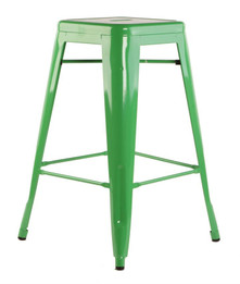 Replica Tolix Stool - Green 65 cm