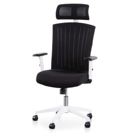COC6208-LF Office Chair - Black and White (cf)