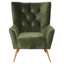 Arizona Lounger Chair - Forest Green