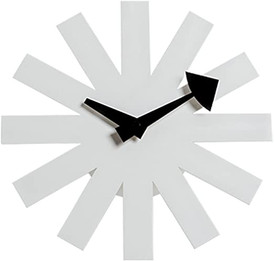 Replica George Nelson Asterisk Clock - white