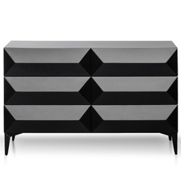 CDT6156-IG Wooden Sideboard - Black (cf)
